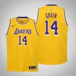 Youth Los Angeles Lakers #14 Danny Green Jersey
